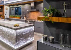 Residential Kitchen Acrylic Couture