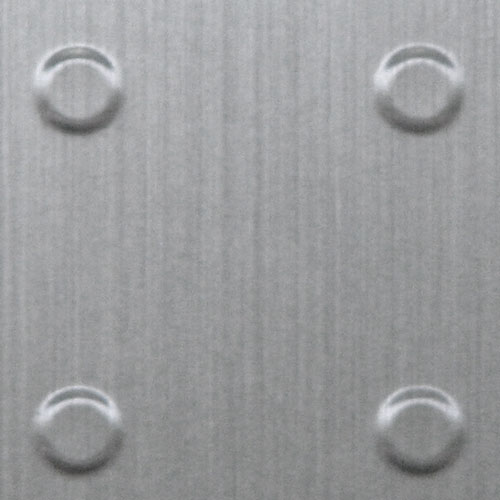 AW-0653 New Light Stainless Dots - Metal Laminates