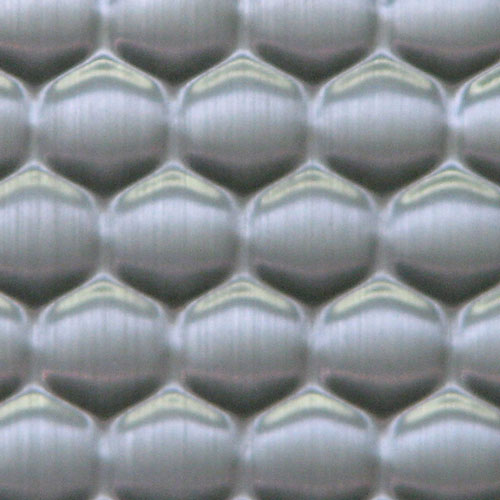 AW-0654 Light Stainless Honey Comb - Metal Laminates